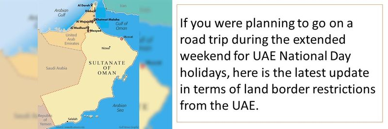 Planning a road trip to Oman or Saudi Arabia? Here is all you need to know.