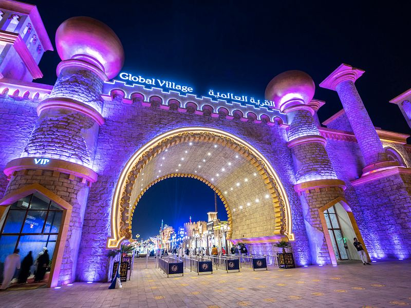 Look: Global Village creates new VIP experiences for the next season