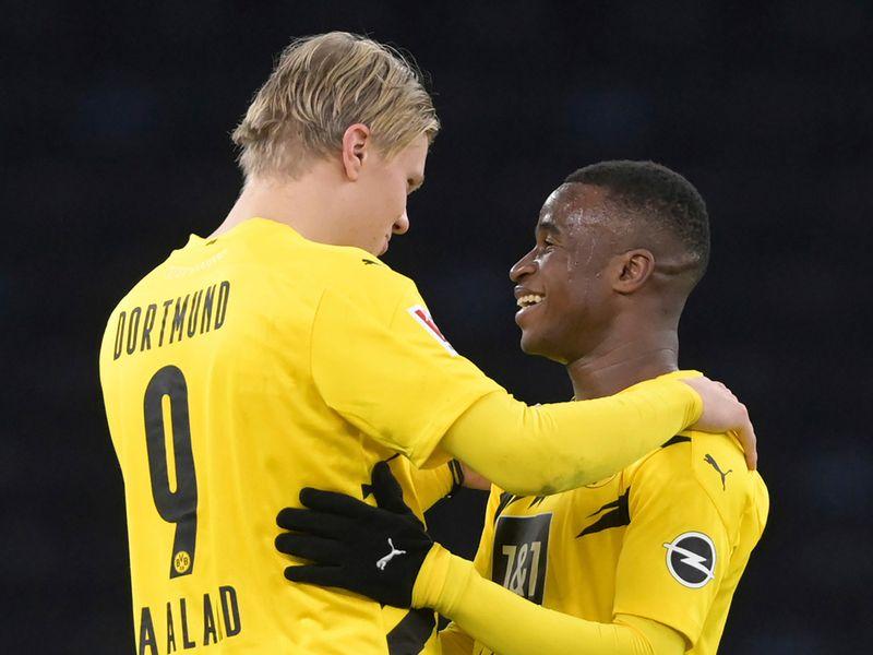 Youssoufa Moukoko - 16 years, one day - November 2020 - Borussia Dortmund