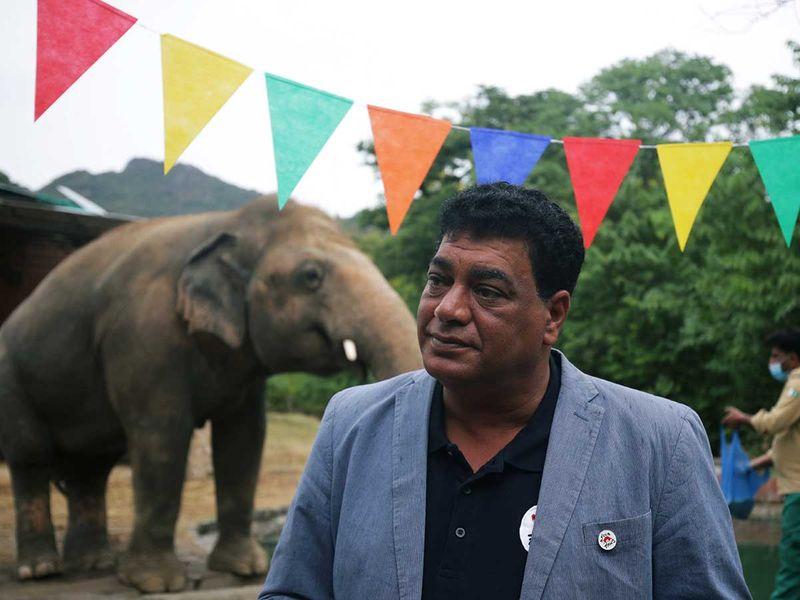 Amir Khalil Four Paws Kaavan elephant Pakistan