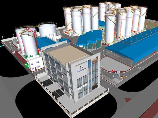 AquaChemie facility
