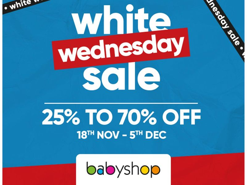 Baby shop sale