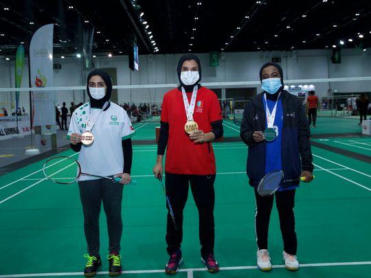 Emirati badminton