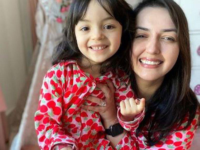 Faiza Hasan Ali's daughter Amelia wants to be just like her mummy