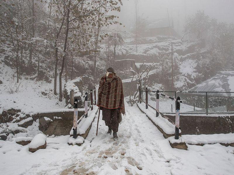 Kashmir snow gallery