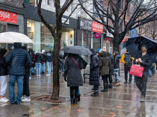 Toronto store covid