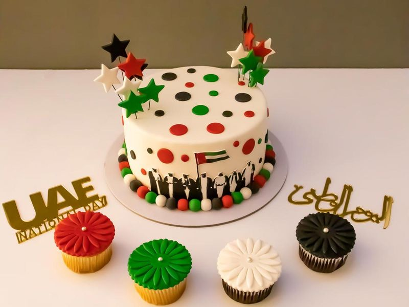UAE NATIONAL DAY CAKE