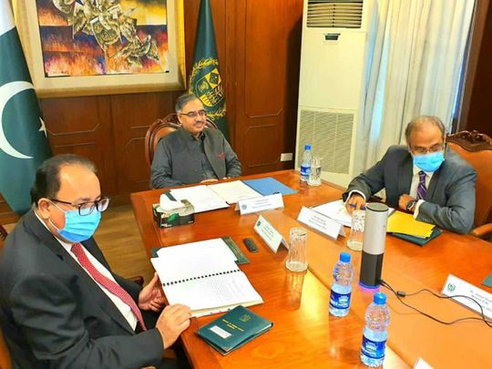 Pakistan Oman talks