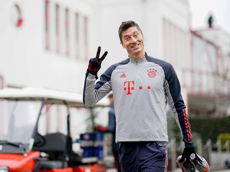 Bayern's Robert Lewandowski is favourite for the Fifa Best men's award