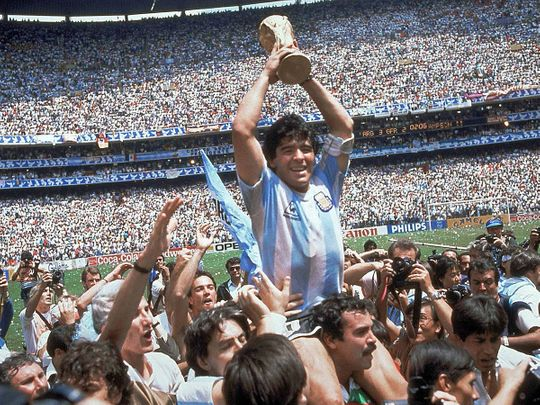 Diego Maradona became a national hero and global icon at the Mexico 86 World Cup