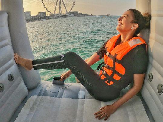 Bollywood star Gauahar Khan lands in Dubai