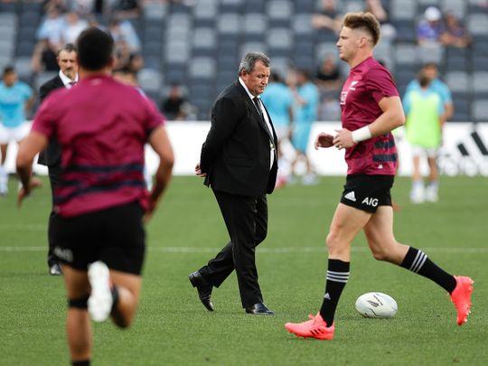 New Zealand All Blacks coach Ian Forster