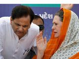Sonia Gandhi Ahmed Patel