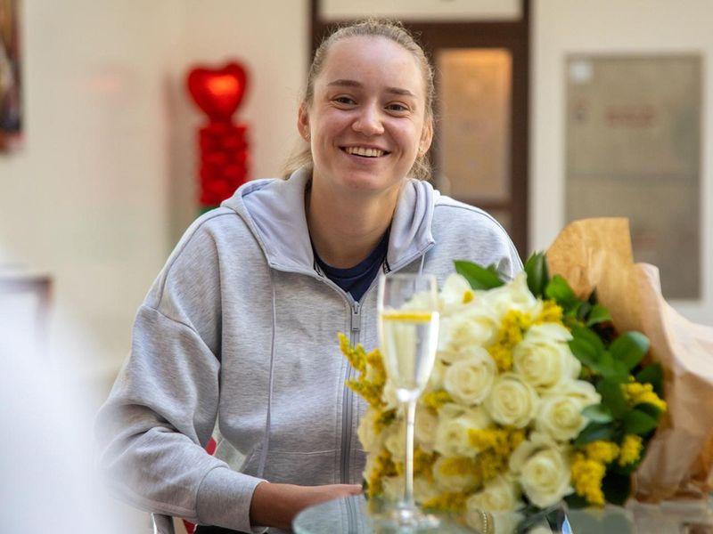 The 2020 Dubai Duty Free Women's Open finalist Elena Rybakina