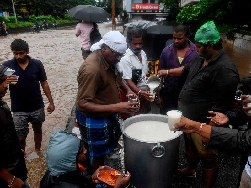 Puducherry Nivar cyclone