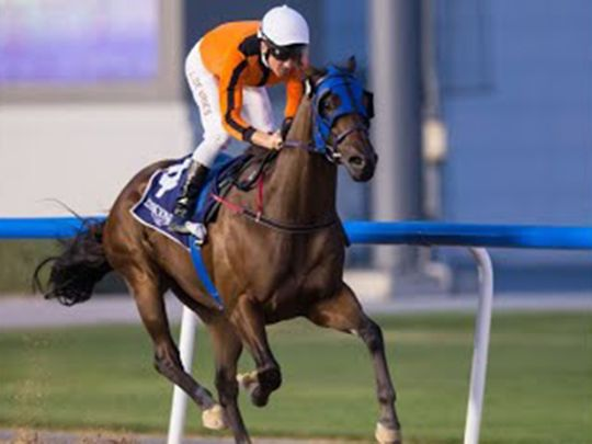 What A Metal will be the main opposition for Raakezz at Jebel Ali
