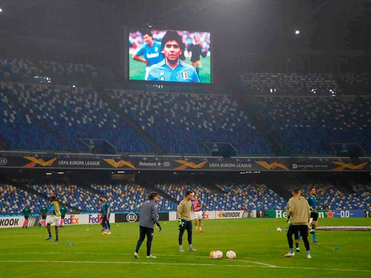 Football-Napoli