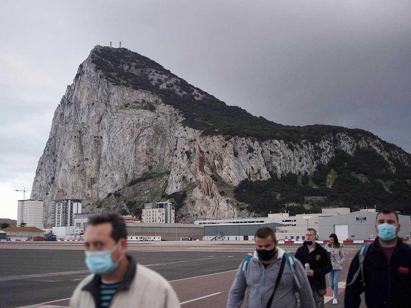 Gibraltar foreigners border