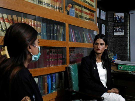 Nisha Rao, 28, a transgender woman Pakistan