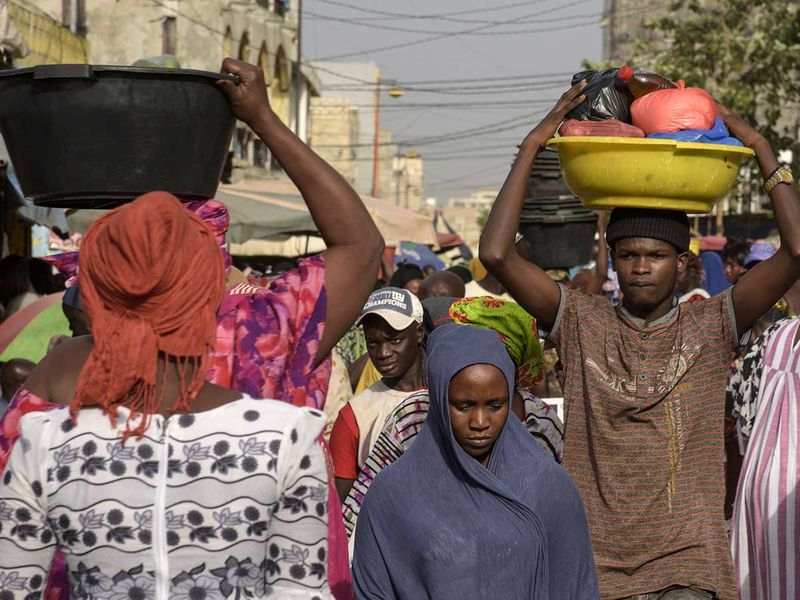 Senegal shop Dakar market