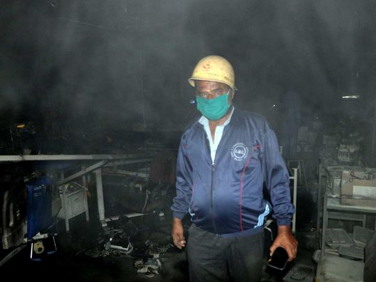 india gujarat hospital fire