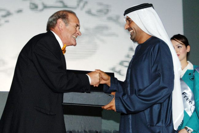 NAT Colm WITH Sheikh Ahmed Bin Saeed Al Maktoum  occasion of DDF 25th anniversary-1606570929559