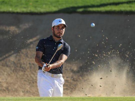 The UAE's No. 1 golfer Ahmad Skaik