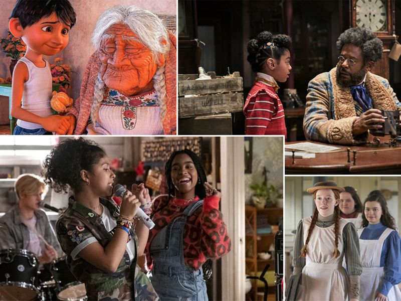 Feel-good movies and shows