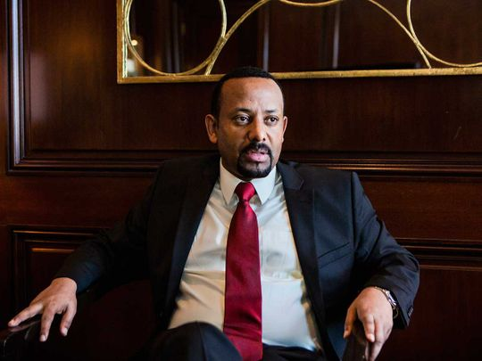 Prime Minister Abiy Ahmed of Ethiopia