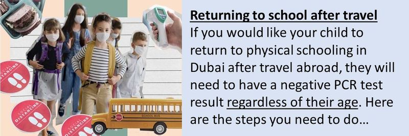 Travel school guidelines