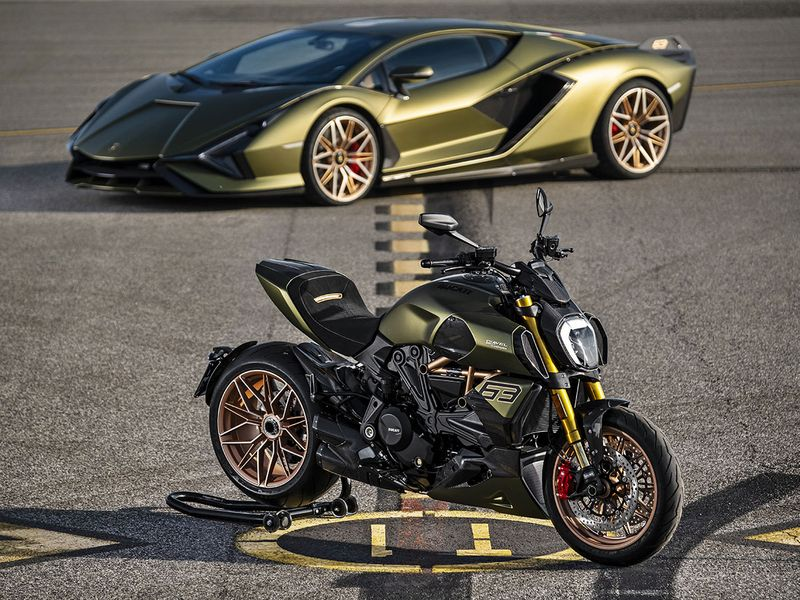 Look A Ducati Motorcycle Inspired By The Lamborghini Sian Auto News Gulf News