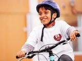 Kids are back on the bikes thanks to UAE Team Emirates