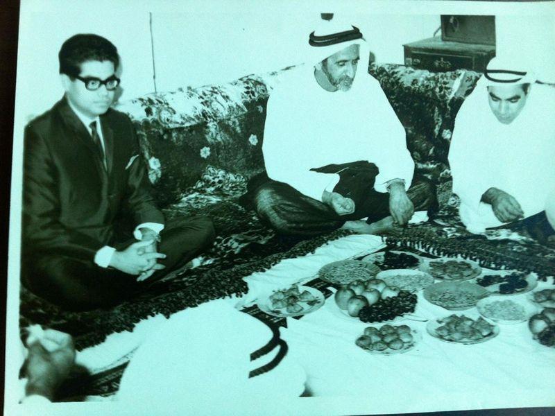 Sheikh Rashid Diwali old
