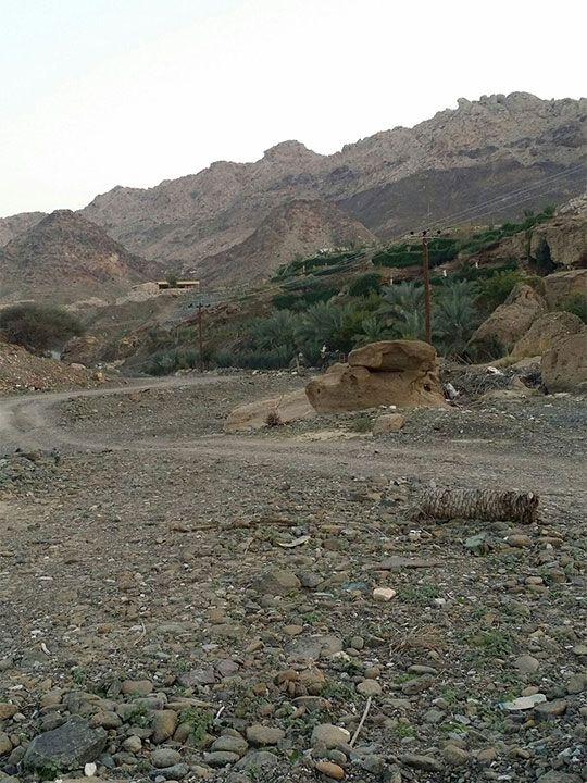 The Wadi Kub to Al Ghail Village