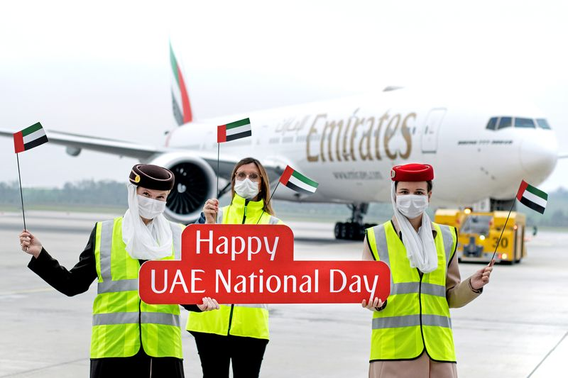 Emirates Airline National Day