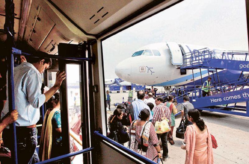 Indigo India domestic flight civil aviation