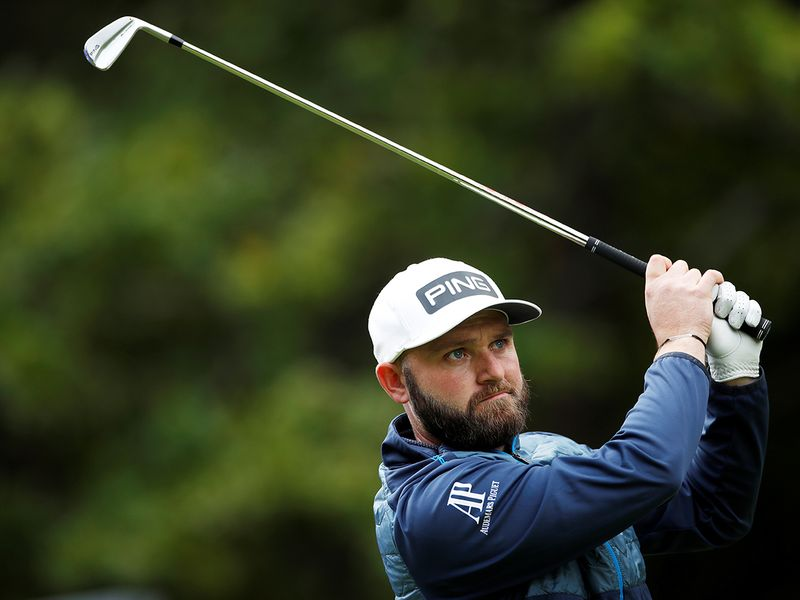 Andy Sullivan was in blistering form on the Fire Curse at the Golf in Dubai Championship