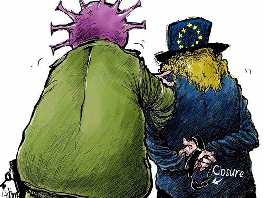 Europe lockdown