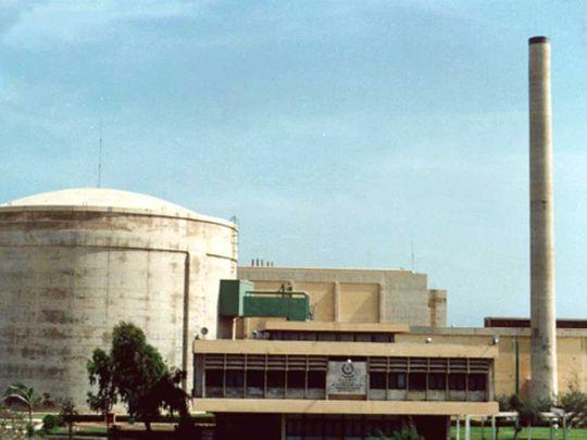 Karachi nuclear power plant Pakistan