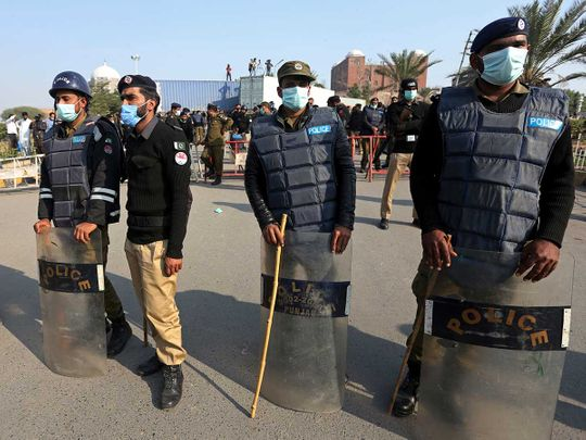 Pakistan police Multan