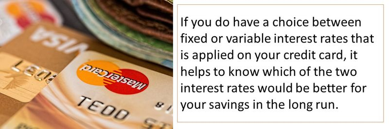 Credit card interest rates