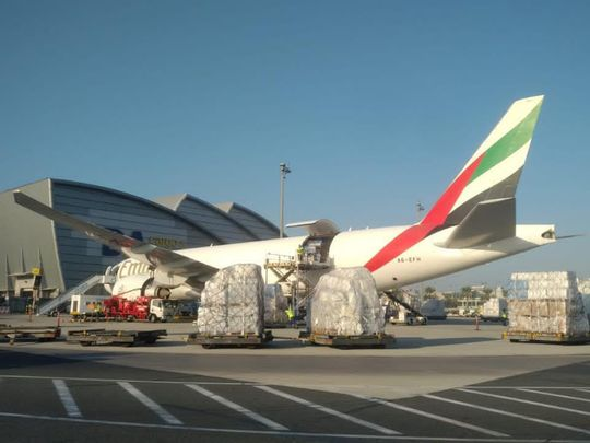 International Humanitarian City in Dubai delivers aid to refugees and displaced individuals fleeing Ethiopia to Sudan