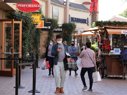 California US shoppers