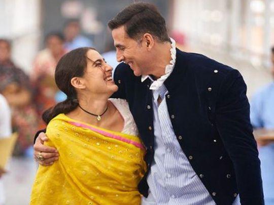 Sara Ali Khan and Akshay Kumar