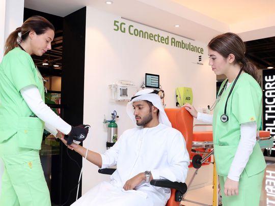 5G enabled ambulance