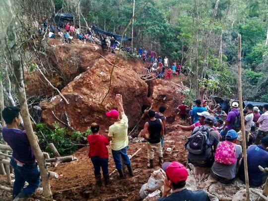 Nicaragua mine tragedy