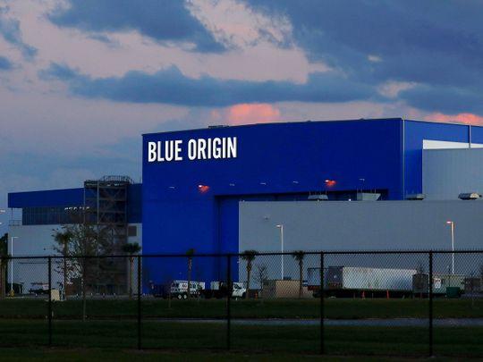 Blue Origin rocket facility