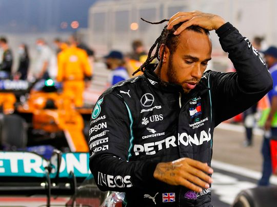 Lewis Hamilton began feeling ill after the Bahrain Grand Prix