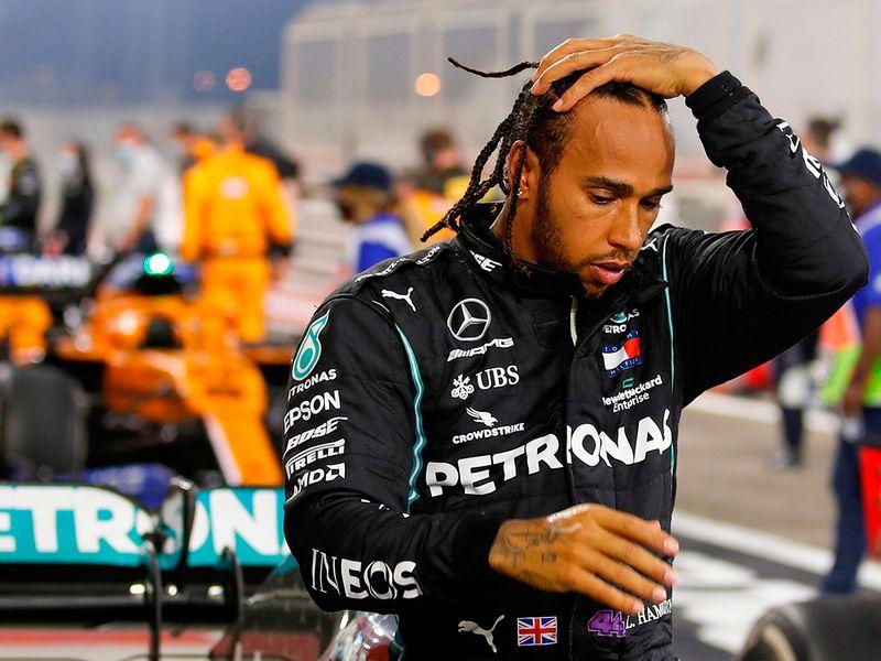 Lewis Hamilton began feeling ill after the Bahrain Grand Prix