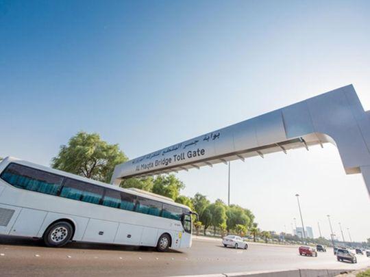 Darb Abu Dhabi toll gate